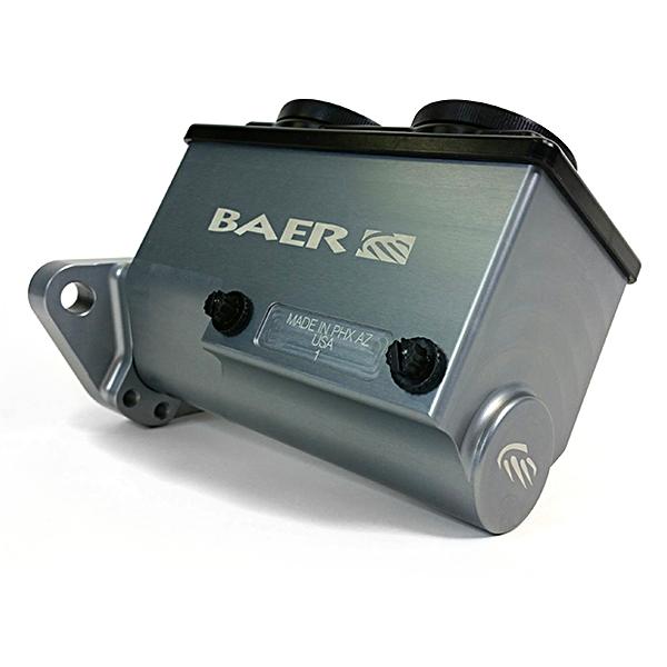 Baer Brakes Brake Master Cylinder Remaster Hard Anodized Right Port 1 Inch