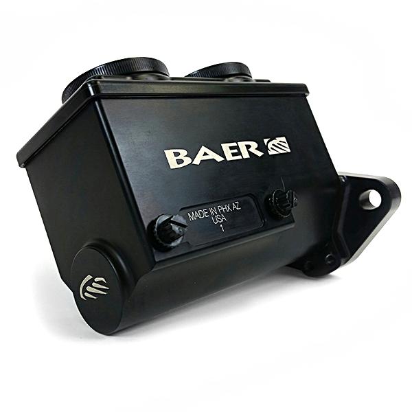 Baer Brakes Brake Master Cylinder Remaster Black Anodized Left Port 1 Inch