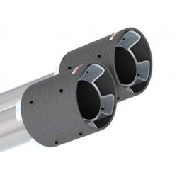 Borla 2018 Kia Stinger 2.0L/3.3L AT RWD/AWD 2.25in Carbon Fiber Tip Kit