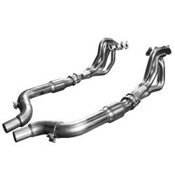Kooks **Superceded to 1151H221** 2015 + Mustang 5.0L 4V 1 3/4 x 3 Stainless Steel Headers w/Catted OEM Connection