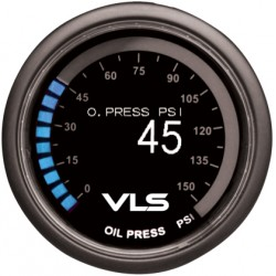 Revel VLS 52mm 0-150PSI Digital OLED Oil Pressure Gauge