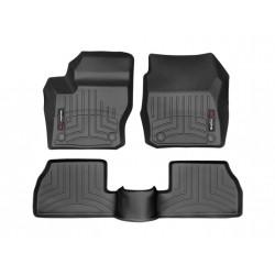 WeatherTech 12+ Ford Focus FloorLiner 3pc Set - Black