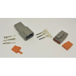 PRP AMS Electrical Deutsch Connectors Plugs Male and Female