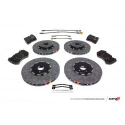 AMS Nissan R35 GT-R Carbon Ceramic Brake Kit Upgrade 393/380 2012+ DBA