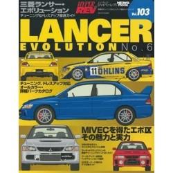 Hyper Rev Magazine Volume No. 103 Mitsubishi Lancer Evo