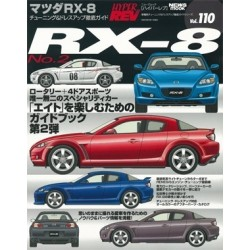 Hyper Rev Magazine Volume No. 110 Mazda RX-8