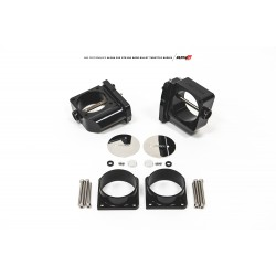 AMS ALPHA Performance R35 GT-R CNC Big Bore Throttle Body Set (With Vibrant HD Flanges)