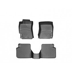 COBB 09-13 Subaru FXT Front and Rear FloorLiner by WeatherTech - Black