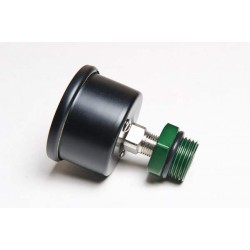 RADIUM ENGINEERING FUEL PRESSURE GAUGE, 0-100 PSI, WITH 8AN ADAPTER