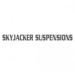 Skyjacker   Suspensions Die-Cut Decal Silver 3.5 Inch X 30 Inch