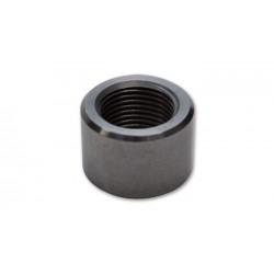 Vibrant -10 AN Female Weld Bung (7/8in -14 Thread) - Mild Steel