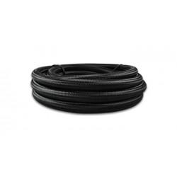 Vibrant -10 AN Black Nylon Braided Flex Hose .56in ID (50 foot roll)