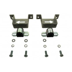 Whiteline 20 Roll  Bar Mount Kit Included Steel Mounting And Suits 20MM Roll  Bar