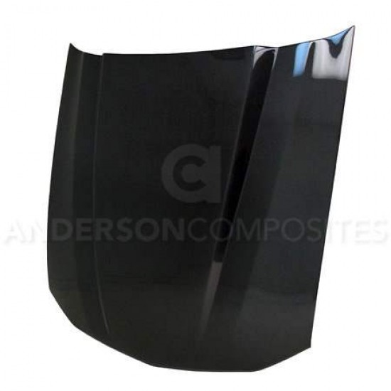 Anderson 2.5 inch Cowl carbon fiber Bonnet for 2005-2009 Ford Mustang