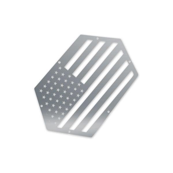 Skull Krushers Jeep JK Wing  Logo American Hero 07-18 Wrangler JK 2/4 Door Aluminum