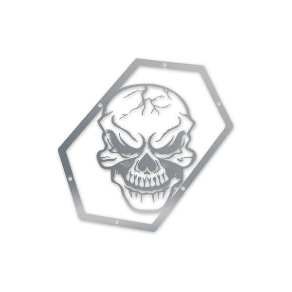 Skull Krushers Jeep JK Wing  Logo Skull 07-18 Wrangler JK 2/4 Door Aluminum
