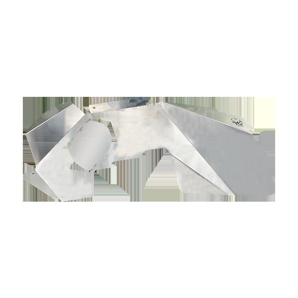 Skull Krushers Jeep JK Inner Wing  Skull 07-18 Wrangler JK 2/4 Door Aluminum