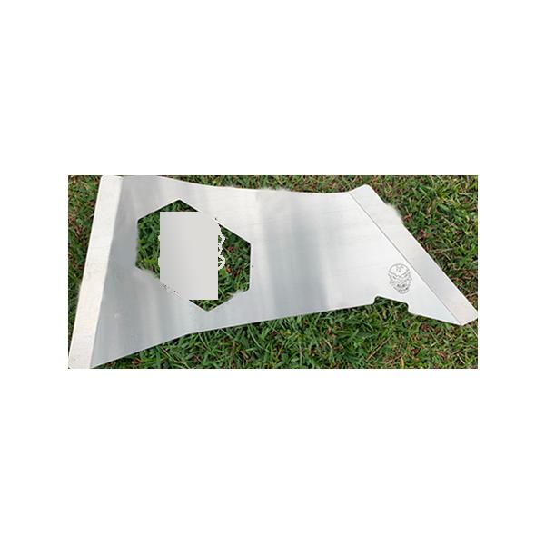 Skull Krushers Jeep JK Rear Wing  Skull 07-18 Wrangler JK 2/4 Door Aluminum