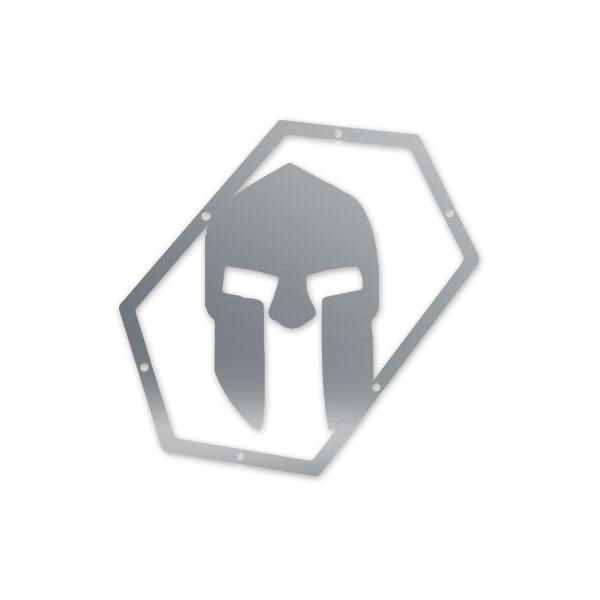 Skull Krushers Jeep JK Wing  Logo Spartan 07-18 Wrangler JK 2/4 Door Aluminum