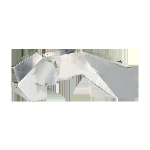 Skull Krushers Jeep JL Inner Wing  Spartan 18-Pres Wrangler JL 2/4 Door Aluminum