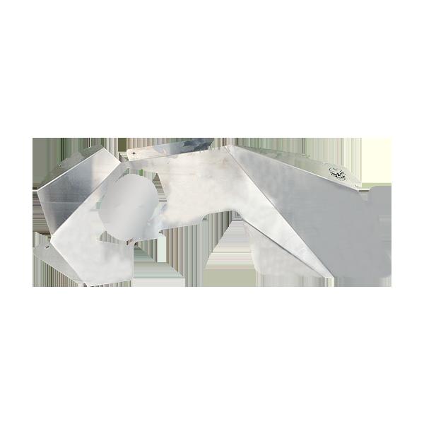 Skull Krushers Jeep JK Inner Wing  Sugar Skull 07-18 Wrangler JK 2/4 Door Aluminum