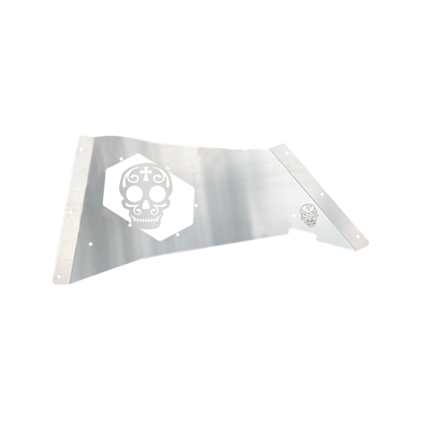 Skull Krushers Jeep JK Rear Wing  Sugar Skull 07-18 Wrangler JK 2/4 Door Aluminum