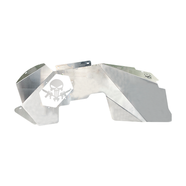 Skull Krushers Jeep JL Inner Wing  Strapped Punisher 18-Pres Wrangler JL 2/4 Door Aluminum